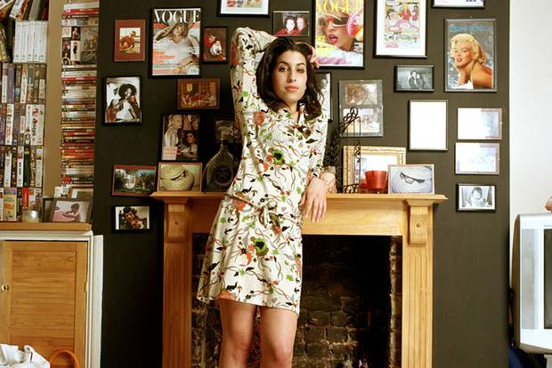 "Detail from foyer image of ""Amy Winehouse: A Family Portrait"" (© Mark Okoh, Camera Press London)"