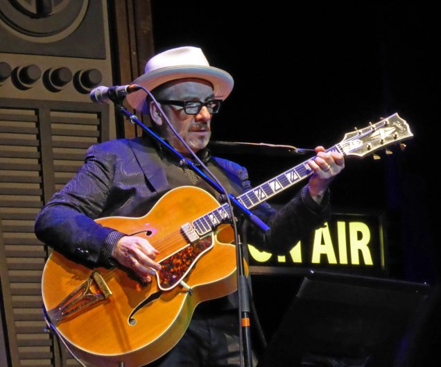 Elvis Costello in San Francisco, March 30, 2016 ©Fred Walder